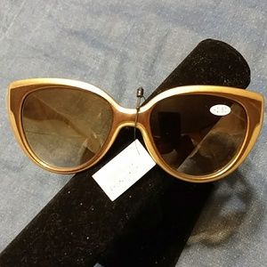 Joy and Iman Reader Sunglasses. New without tags.